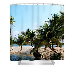 Shower Curtain featuring the photograph Isle @ Camana Bay by Amar Sheow