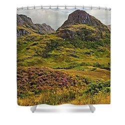 Isle Of Skye Shower Curtain by Marcia Colelli