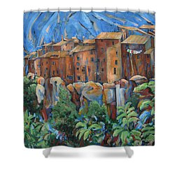 Isola Di Piante Large Italy Shower Curtain