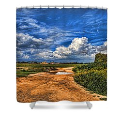 Israel End Of  Spring Season  Shower Curtain by Ron Shoshani
