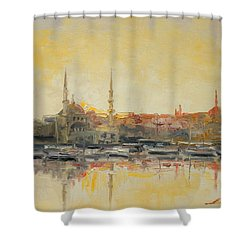 Istanbul- Hagia Sophia Shower Curtain