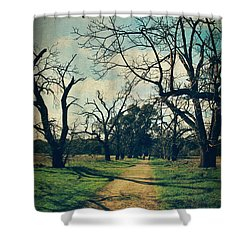 It All Depends Shower Curtain by Laurie Search