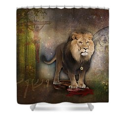 It Is Finished Shower Curtain