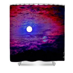 Shower Curtain featuring the photograph No Longer The Same by Susanne Still