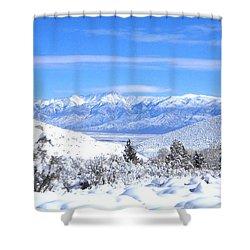 It Snowed Shower Curtain by Marilyn Diaz