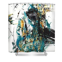 It Went That Way 135.090710 Shower Curtain by Kris Haas