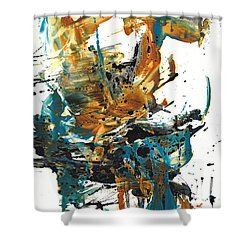 It Went This Way 136.090710 Shower Curtain by Kris Haas