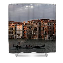 Italian Evening Shower Curtain by Jennifer Wheatley Wolf