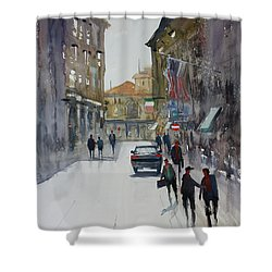 Italian Impressions 1 Shower Curtain by Ryan Radke
