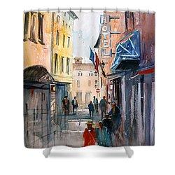 Italian Impressions 3 Shower Curtain