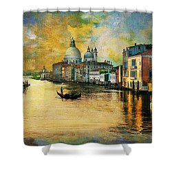 Italy 01 Shower Curtain by Catf