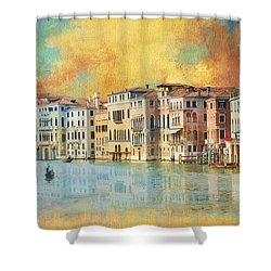 Italy 02 Shower Curtain by Catf