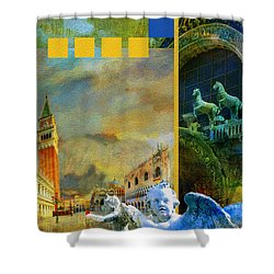 Italy 04 Shower Curtain by Catf