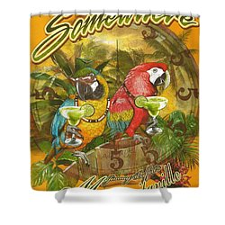 It's 5 O'clock Somewhere Shower Curtain