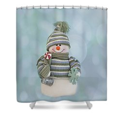 It's A Holly Jolly Christmas Shower Curtain