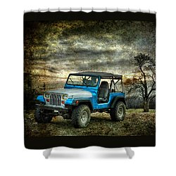 It's A Jeep Thing Shower Curtain