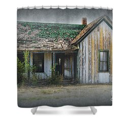 It's  A Long Story Shower Curtain by Sandra Bronstein