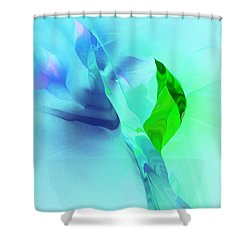 Shower Curtain featuring the digital art It's A Mystery  by David Lane