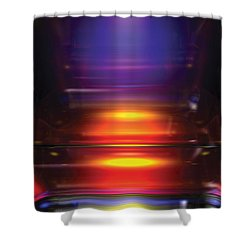 Its A Primary Thing Shower Curtain by James Kramer