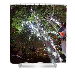Its Christmas Time Again Shower Curtain