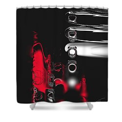 It's Complicated Shower Curtain by Kume Bryant