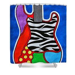 It's Electric Acrylic By Diana Sainz Shower Curtain