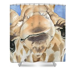 It's Lonely At The Top Shower Curtain by Kimberly Lavelle