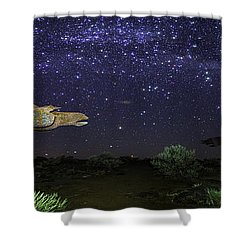 Its Made Of Stars Shower Curtain by James Heckt