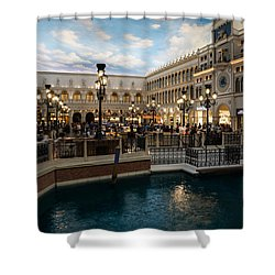 It's Not Venice Shower Curtain