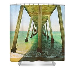 I've Been Here Before Shower Curtain by Laurie Search