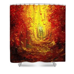 Ive Fallen For You Shower Curtain by Shana Rowe Jackson