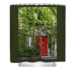 Ivy Cottage Shower Curtain by Ann Horn