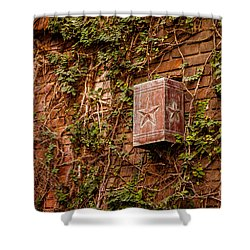 Ivy League Star Shower Curtain