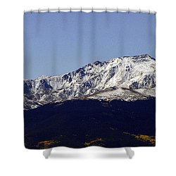 Ivy League Tower  Shower Curtain by Jeremy Rhoades