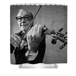 Jack Benny Farewell Shower Curtain