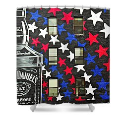 Shower Curtain featuring the photograph Jack Daniel's Wall Art by Joan Reese