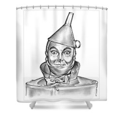 Jack Haley As The Tin Man Shower Curtain
