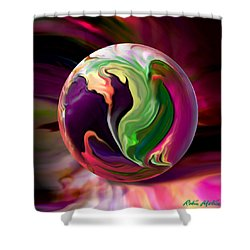 Jack In The Pulpit Globe Shower Curtain
