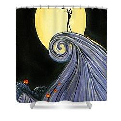 Jack's Lament Shower Curtain by Marisela Mungia