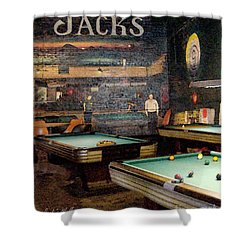 Jack's Wall Shower Curtain