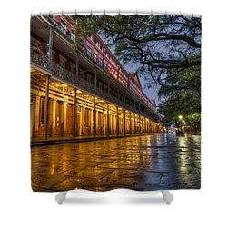 Jackson Square Reflections Shower Curtain