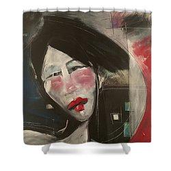Jade Shower Curtain by Tim Nyberg