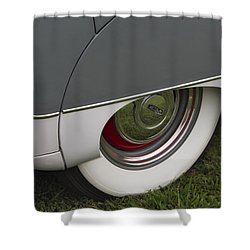 Jaguar Mk Ix Classic Shower Curtain by Susan Candelario