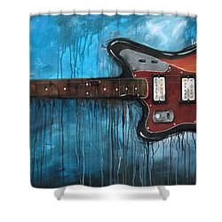 Jaguar Nirvana Shower Curtain