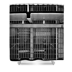 Jail Cells Shower Curtain by Benjamin Yeager
