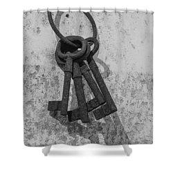 Jail House Keys Shower Curtain