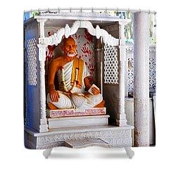 Jain Idol Shower Curtain
