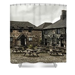 Jamaica Inn. Shower Curtain