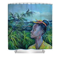 Jamaica. Part Two Shower Curtain by Anna  Duyunova