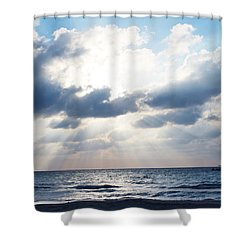 Jamaican Sunset2 Shower Curtain